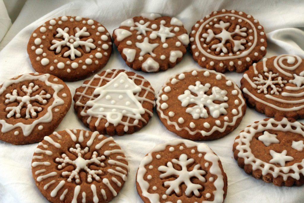 Lebkuchen korzenne ciasteczka świąteczne