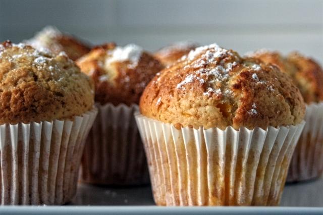 Mandarynkowe Cupcakes