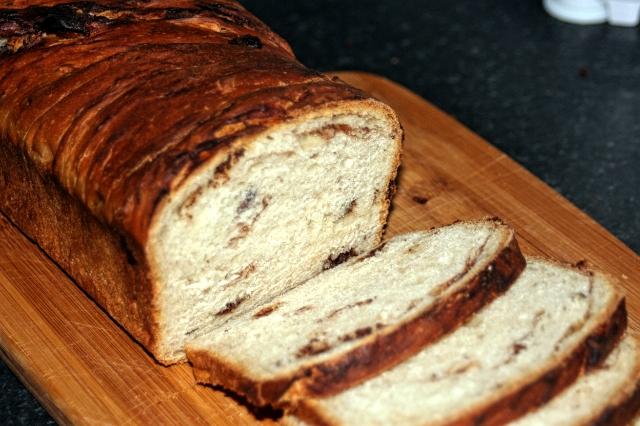 Chleb czekoladowo-orzechowy