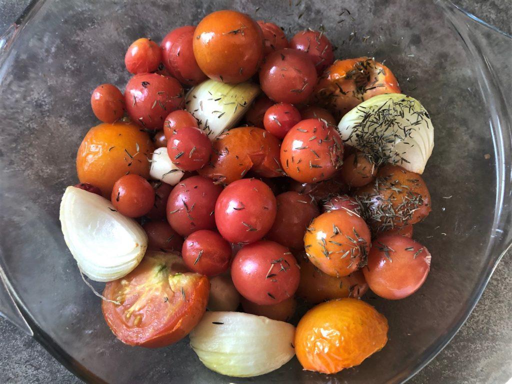 idealna zupa pomidorowa ze świeżych pomidorów