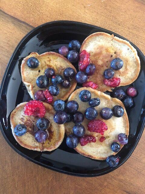 Razowe pancakes